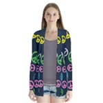 Peace & Love Pattern Cardigans