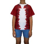 Kid s Canada Swimwear Shirts - Canada Swimming Shirts - Kids  Short Sleeve Swimwear