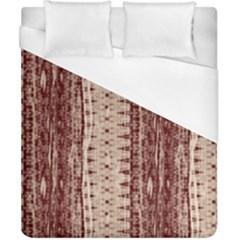 Wrinkly Batik Pattern Brown Beige Duvet Cover (california King Size) by EDDArt