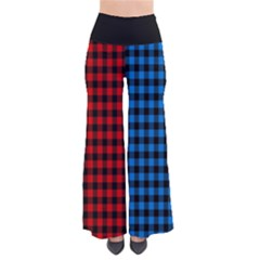 Lumberjack Fabric Pattern Red Blue Black by EDDArt
