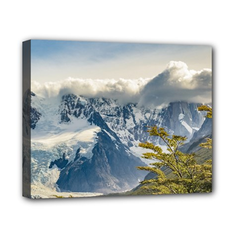 Snowy Andes Mountains, El Chalten Argentina Canvas 10  X 8  by dflcprints