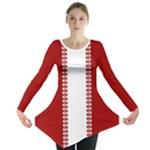 Canada Shirts Women s Canada Maple Leaf Tunic Shirts - Long Sleeve Tunic