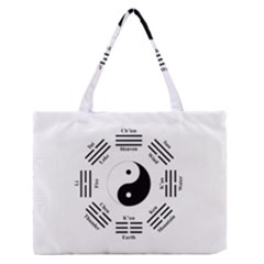 I Ching  Medium Zipper Tote Bag by Valentinaart