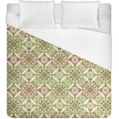 Colorful Stylized Floral Boho Duvet Cover (king Size) by dflcprints