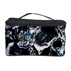 Skulls Pattern Cosmetic Storage Case by ValentinaDesign