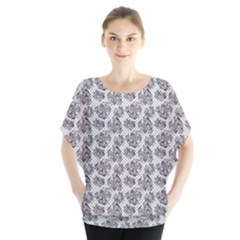 Floral Pattern Blouse by ValentinaDesign