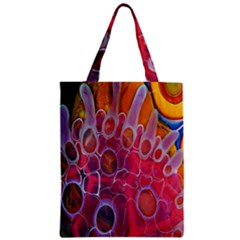 Micro Macro Belle Fisher Nature Stone Zipper Classic Tote Bag by Mariart