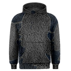 Sherlock Quotes Men s Pullover Hoodie by Mariart