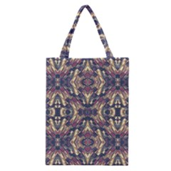 Multicolored Modern Geometric Pattern Classic Tote Bag by dflcprints