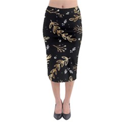 Kawaii Wallpaper Pattern Midi Pencil Skirt by Nexatart