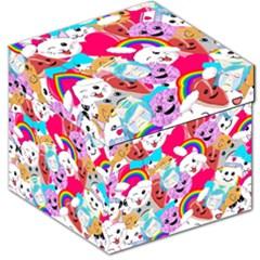 Cute Cartoon Pattern Storage Stool 12   by Nexatart