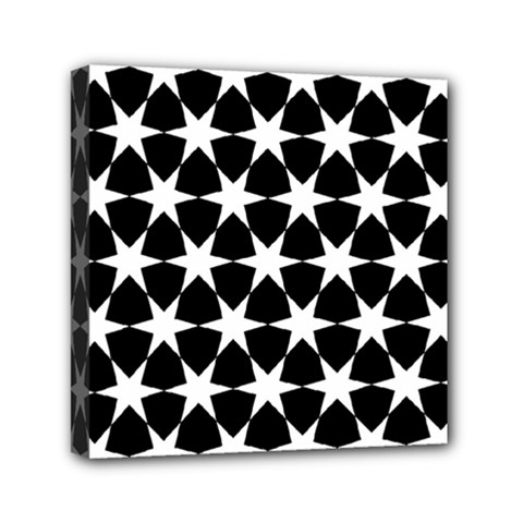 Star Egypt Pattern Mini Canvas 6  X 6  by Nexatart