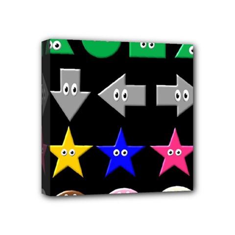 Cute Symbol Mini Canvas 4  X 4  by Nexatart