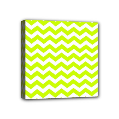 Chevron Background Patterns Mini Canvas 4  X 4  by Nexatart