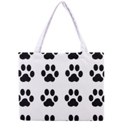 Claw Black Foot Chat Paw Animals Mini Tote Bag by Mariart
