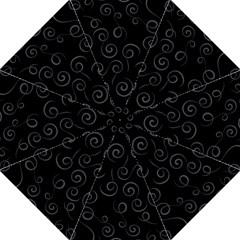 Pattern Hook Handle Umbrellas (large) by ValentinaDesign