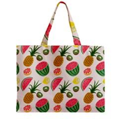 Fruits Pattern Medium Tote Bag by Nexatart