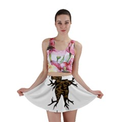 Mandrake plant Mini Skirt by Valentinaart