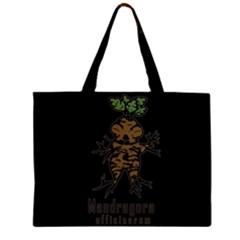 Mandrake Plant Zipper Large Tote Bag by Valentinaart