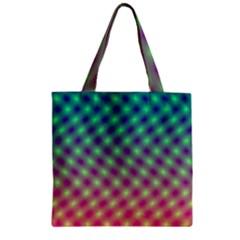 Art Patterns Zipper Grocery Tote Bag by Nexatart