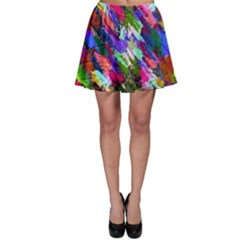 Tropical Jungle Print And Color Trends Skater Skirt by Nexatart