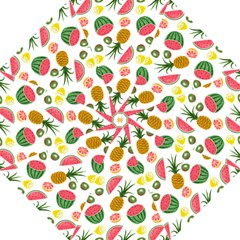 Fruits Pattern Hook Handle Umbrellas (medium) by Nexatart