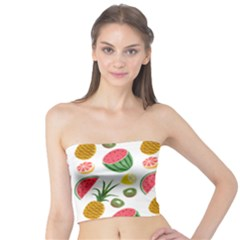 Fruits Pattern Tube Top