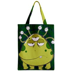 The Most Ugly Alien Ever Zipper Classic Tote Bag by Catifornia