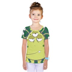 The Most Ugly Alien Ever Kids  One Piece Tee by Catifornia