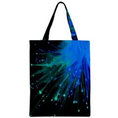 Big Bang Zipper Classic Tote Bag by ValentinaDesign