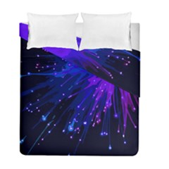 Big Bang Duvet Cover Double Side (full/ Double Size) by ValentinaDesign
