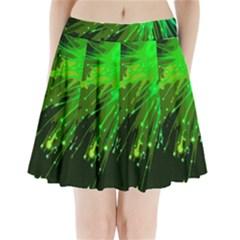 Big Bang Pleated Mini Skirt by ValentinaDesign