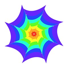 Rainbow Folding Umbrellas by Nexatart