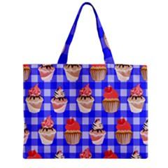 Cake Pattern Medium Tote Bag by Nexatart