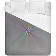 Square Rainbow Duvet Cover (california King Size) by Nexatart