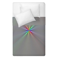 Square Rainbow Duvet Cover Double Side (Single Size)