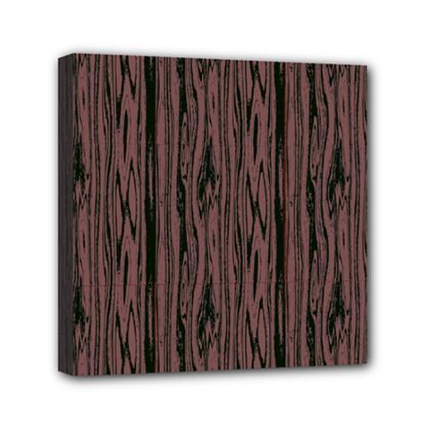 Grain Woody Texture Seamless Pattern Mini Canvas 6  X 6  by Nexatart