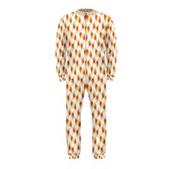 Candy Corn Seamless Pattern Onepiece Jumpsuit (kids) by Nexatart