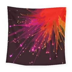 Big Bang Square Tapestry (large) by ValentinaDesign