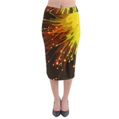Big Bang Midi Pencil Skirt by ValentinaDesign