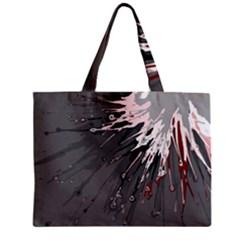Big Bang Zipper Mini Tote Bag by ValentinaDesign
