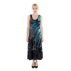 Big Bang Sleeveless Maxi Dress by ValentinaDesign