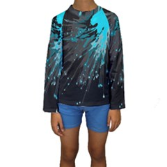 Big Bang Kids  Long Sleeve Swimwear by ValentinaDesign