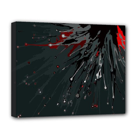 Big Bang Deluxe Canvas 20  X 16   by ValentinaDesign