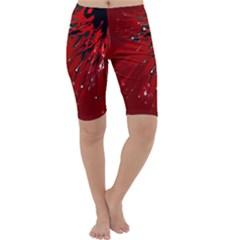 Big Bang Cropped Leggings  by ValentinaDesign