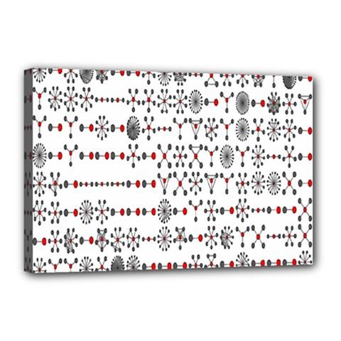 Bioplex Maps Molecular Chemistry Of Mathematical Physics Small Army Circle Canvas 18  x 12