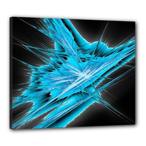 Big Bang Canvas 24  X 20  by ValentinaDesign