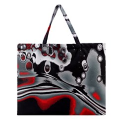 Lights Zipper Large Tote Bag by ValentinaDesign