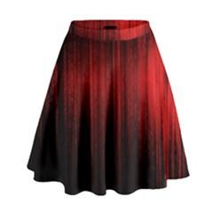 Lights High Waist Skirt by ValentinaDesign