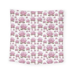 Lotus Square Tapestry (small) by ValentinaDesign